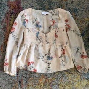 Intermix Floral Blush Blouse